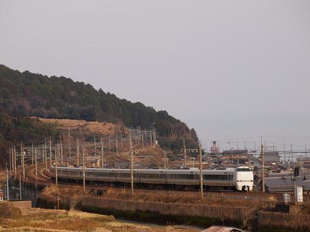 683系特急サンダーバード  湖西線近江高島~北小松02