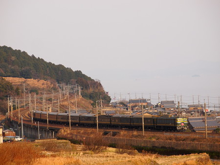 EF81 寝台特急トワイライトエクスプレス 湖西線近江高島~北小松02
