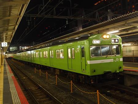103系普通   奈良線京都駅03