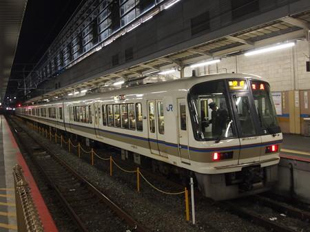 221系快速    奈良線京都駅03
