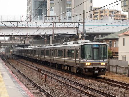 223系新快速   山陽本線舞子駅05