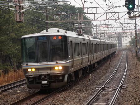 223系新快速   山陽本線舞子駅07