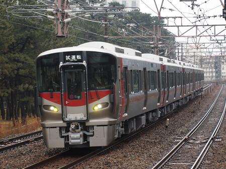 227系試運転   山陽本線舞子駅01