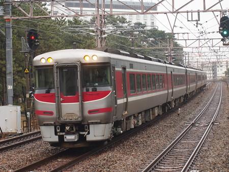 キハ189系特急はまかぜ 山陽本線舞子駅