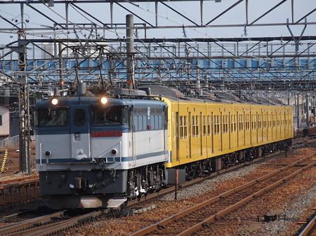 EF65 西武3000系甲種 東海道本線草津駅