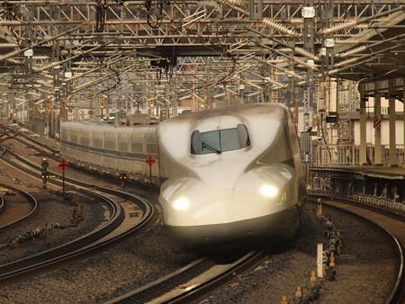 N700系のぞみ 東海道新幹線米原駅04