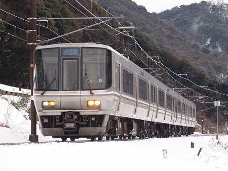 223系新快速 北陸本線新疋田~敦賀02