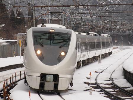683系特急サンダーバード 北陸本線新疋田駅01