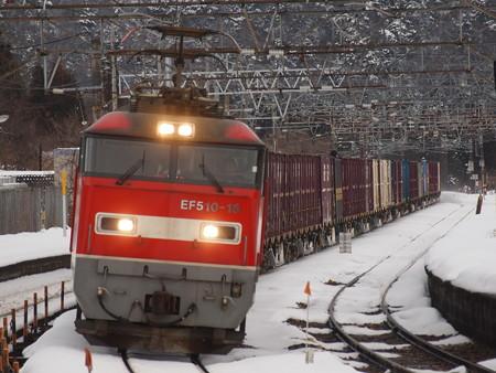 EF510貨物 北陸本線新疋田駅