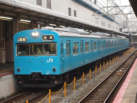 103系日根野車普通 奈良線京都駅01