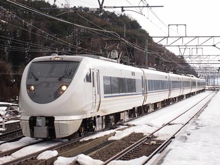 683系特急しらさぎ  北陸本線近江塩津駅01
