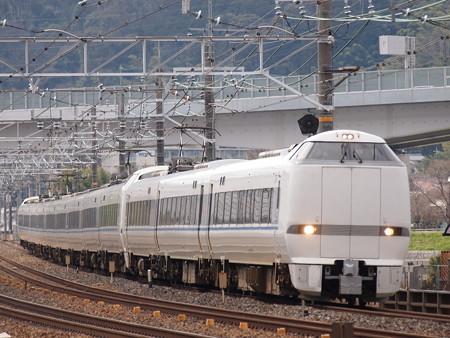 683系特急サンダーバード東海道本線長岡京~山崎01