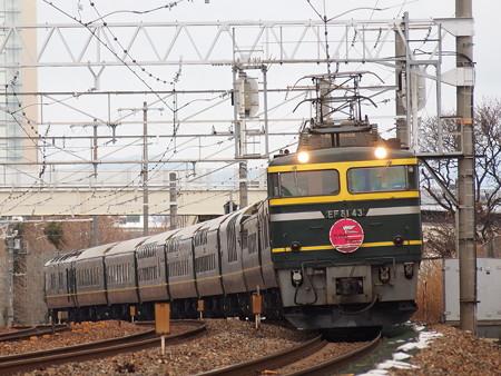 EF81 トワイライトエクスプレス 東海道本線長岡京~山崎02