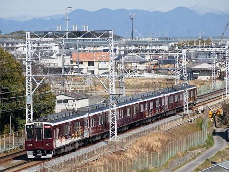 阪急8300系快速特急 阪急京都線西山天王山~大山崎