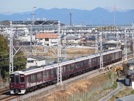 阪急9300系特急 阪急京都線西山天王山~大山崎02