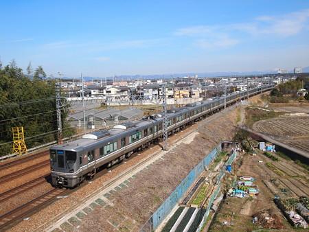 225系新快速 東海道本線長岡京~山崎