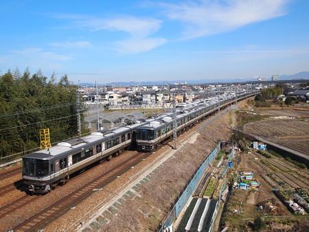 223系新快速東海道本線長岡京~山崎02