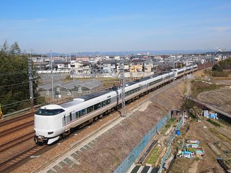 287系回送 東海道本線長岡京~山崎