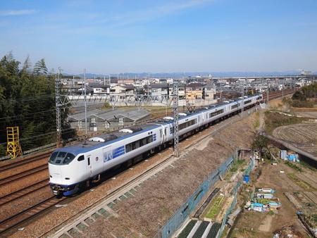 281系特急はるか東海道本線長岡京~山崎03