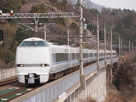 683系特急サンダーバード 湖西線北小松駅