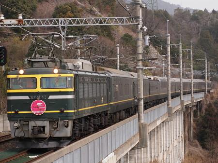 EF81 トワイライトエクスプレス 湖西線北小松駅