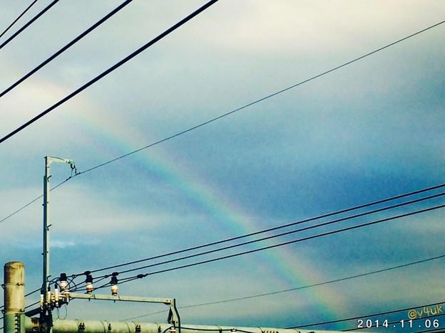 にわか雨→虹~Happy~like a Rainbow