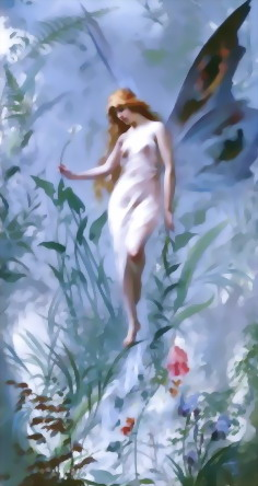 "Luis-Ricardo-Falero_""The Lily Fairy"""