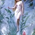 "Photos: Luis-Ricardo-Falero_""The Lily Fairy"""