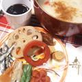 Photos: 雑煮はもちろん白味噌丸餅!...