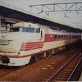 写真: キハ81特急くろしお・70系区間快速 阪和線 和歌山