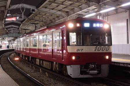 京急新1000形1017F