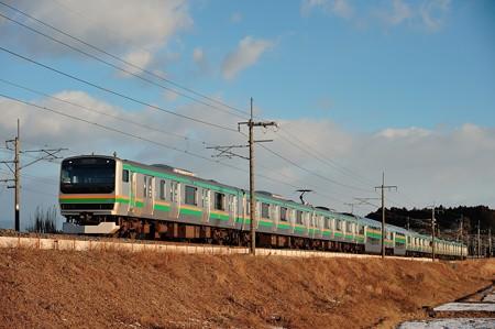 東北本線E231系