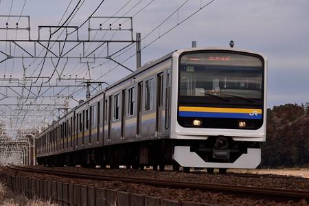 209系C613編成総武本線普通列車