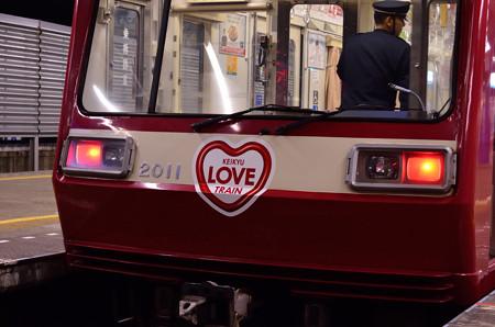 KEIKYU LOVE TRAINのヘッドマーク