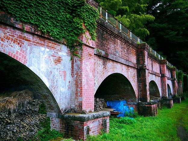 梅木発電所 煉瓦水路橋