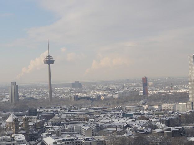 ケルン大聖堂から 高層