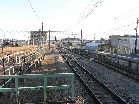 高麗川駅構内