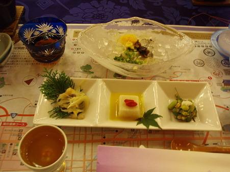 「西の雅 常盤」の食事2