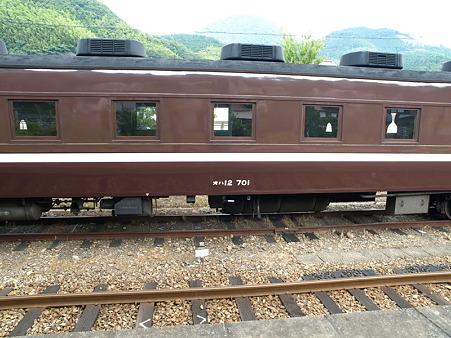 オハ12-701(津和野駅)