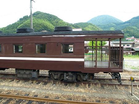 オハフ13-701(津和野駅)2