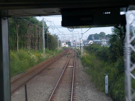 江ノ島線の車窓2(藤沢界隈)