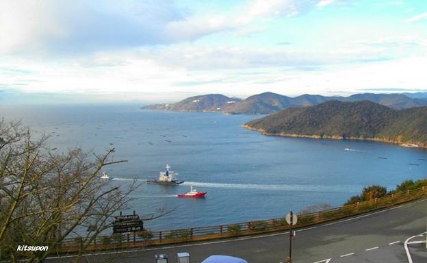 ホテル万葉岬 客室窓景色(3) - 写真共有サイト「フォト蔵」