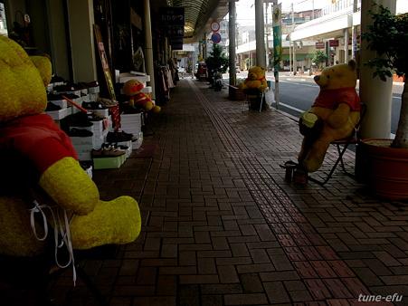 五島の商店街で3