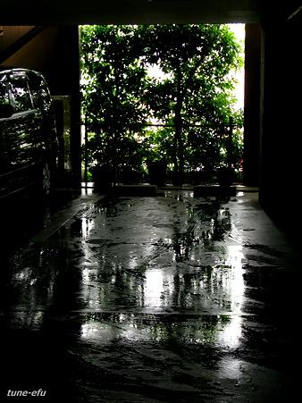 ひどい雨だった