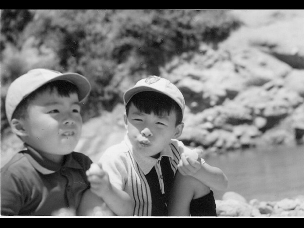 ■1970年〔多分〕、弟〔...