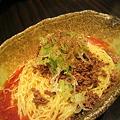 写真: 八丁堀の國松で汁なし担々麺...