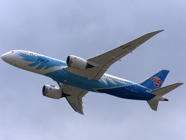 Photos: 波音787梦想飛机