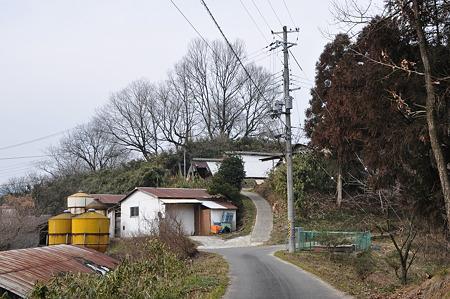 谷脇古墳への道