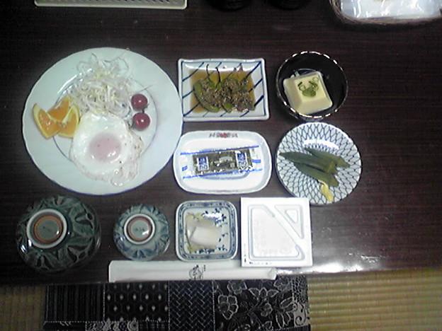 Photos: 民宿『にしとさ』さんの朝食...