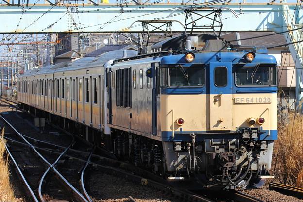 EF64-1030+209系ナハ54編成長野配給